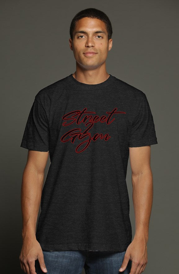 Street 2 Gym new script tri-blend soft tee