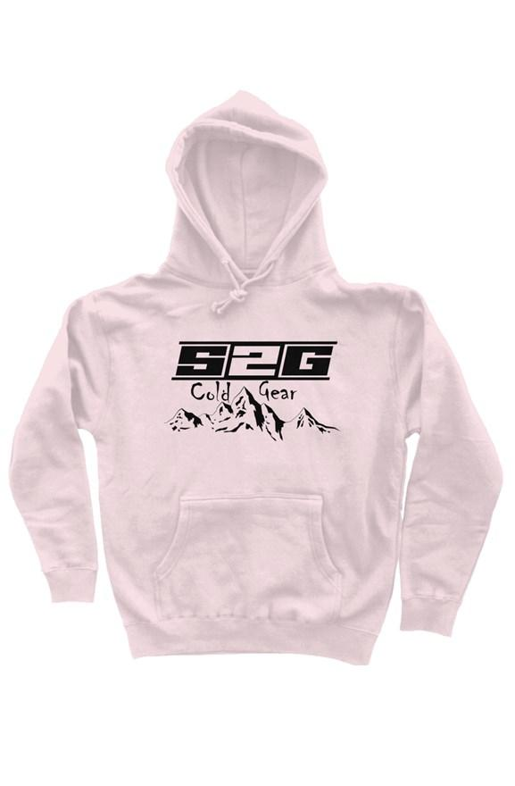 S2G Cold Gear heavyweight pullover hoodie pale pink