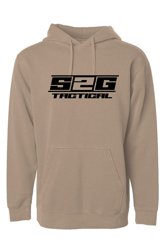 S2G Tactical Independent Pigment Dyed Hoodie Sand