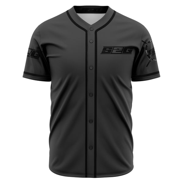 S2G Dark Grey Baseball Jersey