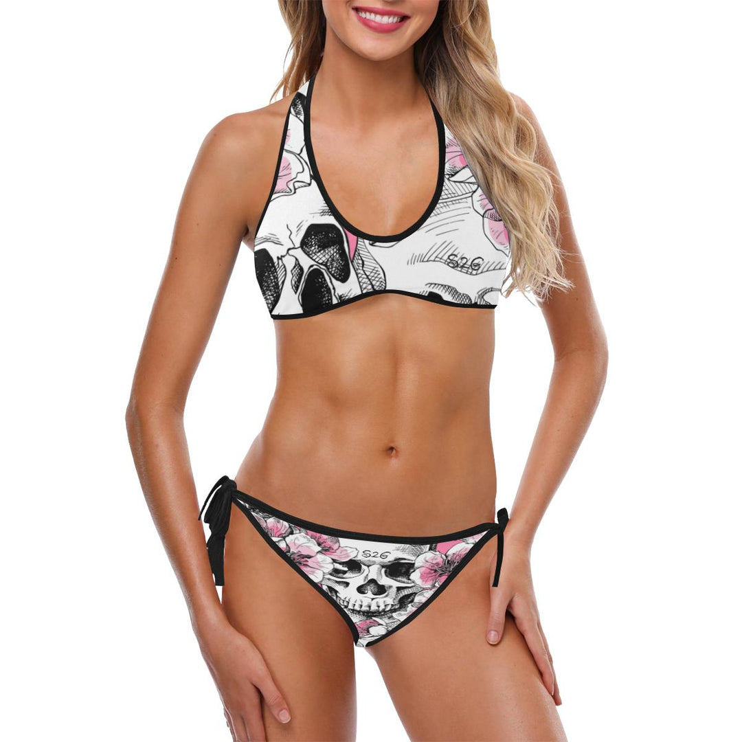 S2G Pink Skully Active Bikini