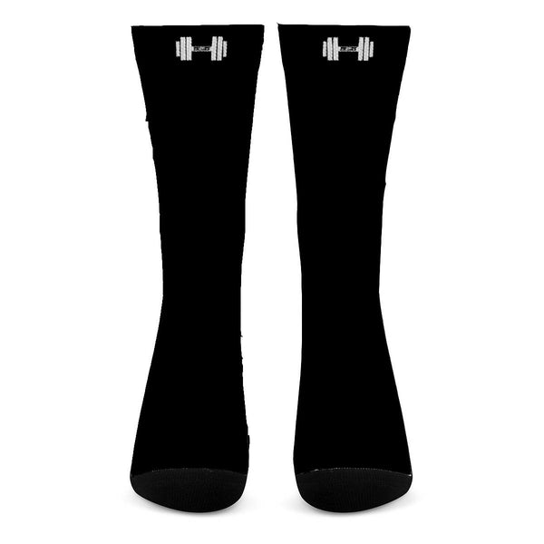 S2G Rep Inspired Dumbell All Over Print Crew Socks