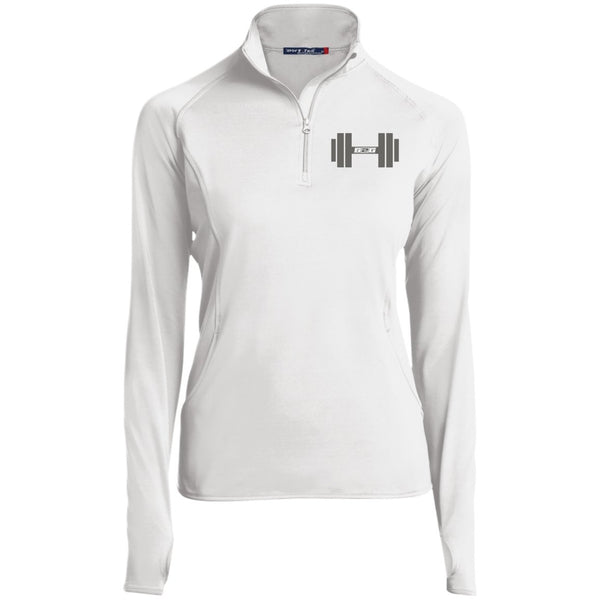 S2G Rep Inspired Dumbell Women's 1/2 Zip Performance Pullover