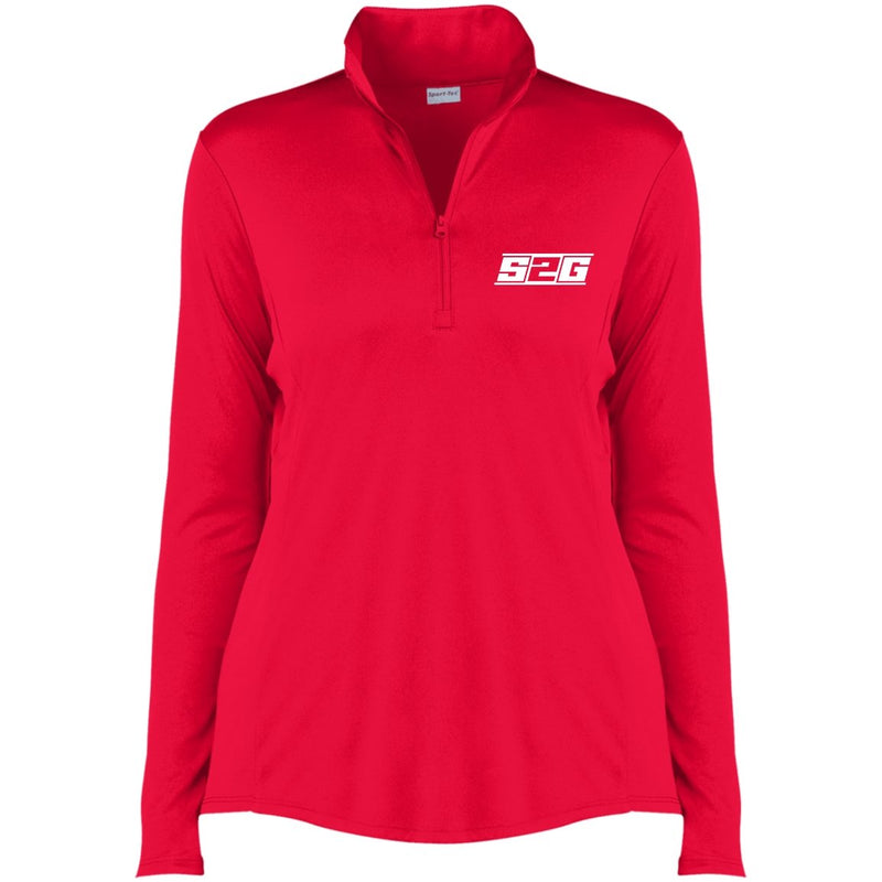 S2G Curvy Collection Ladies' Competitor 1/4-Zip Pullover