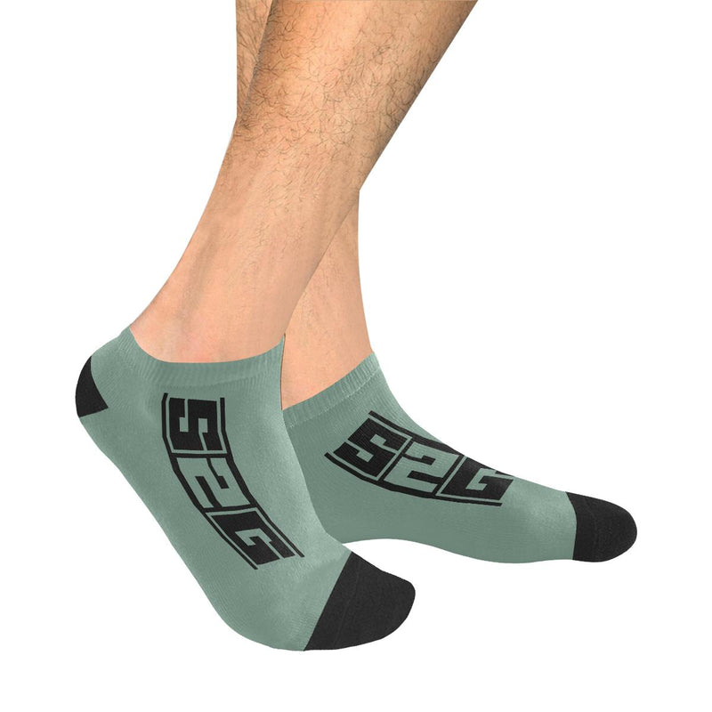 S2G Mens Solid No Show Socks