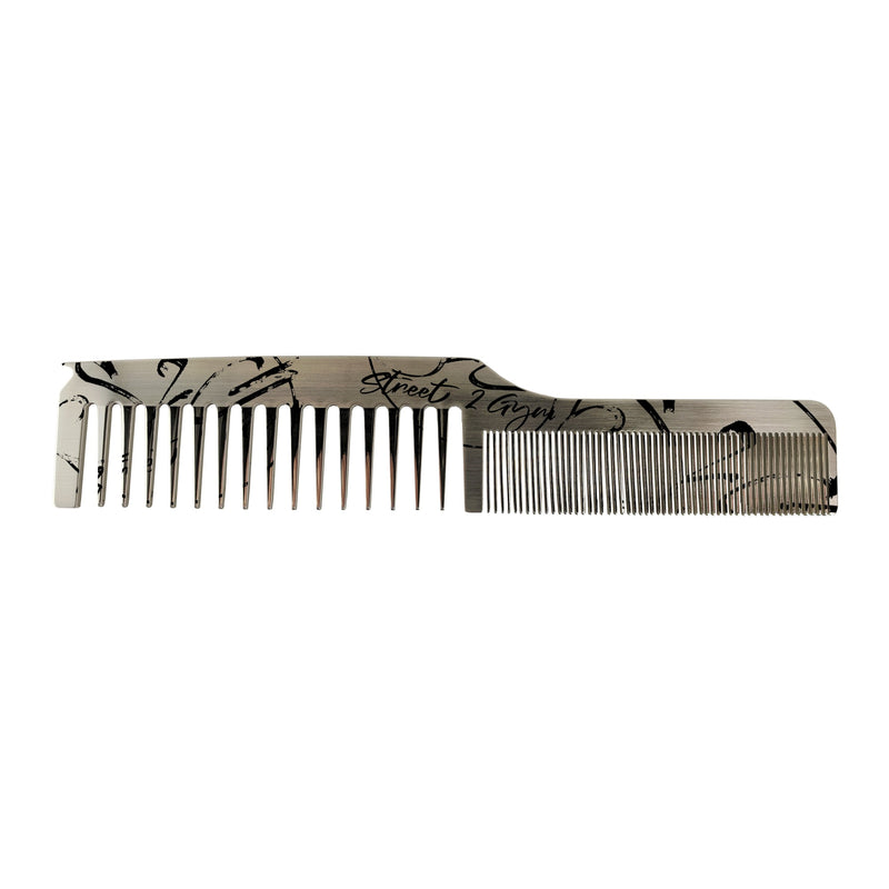 S2G Dual Tooth Stainless Comb Parting Tip Skin Care