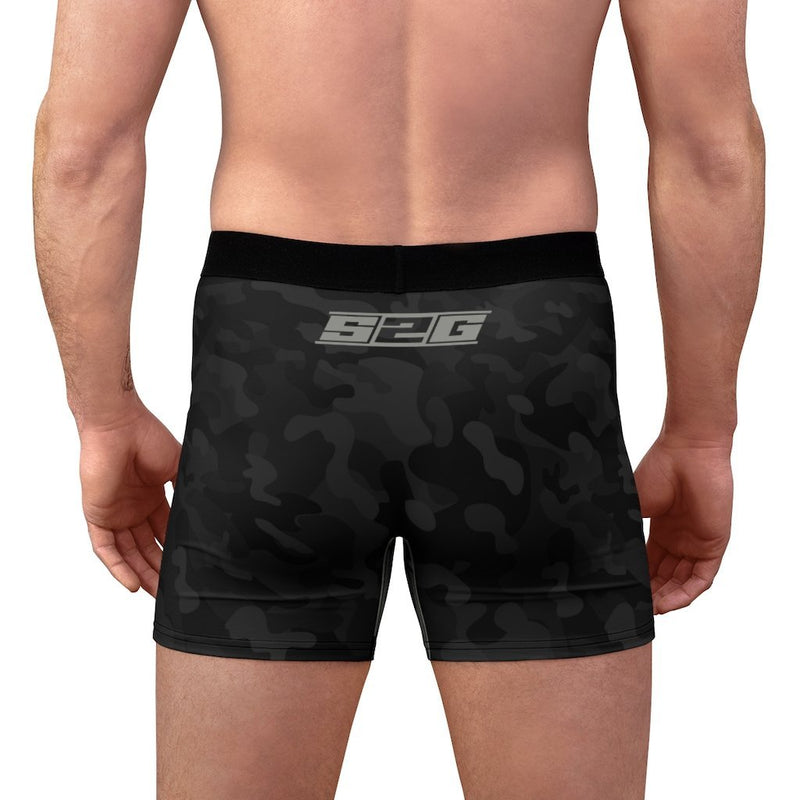 S2G Black Night Camo Men's Boxer Briefs