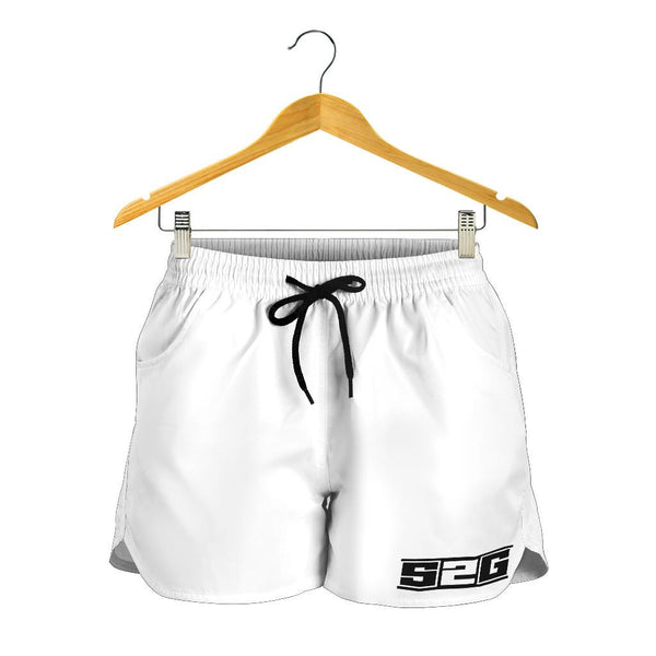 S2G LADIES WHITE SHORTS
