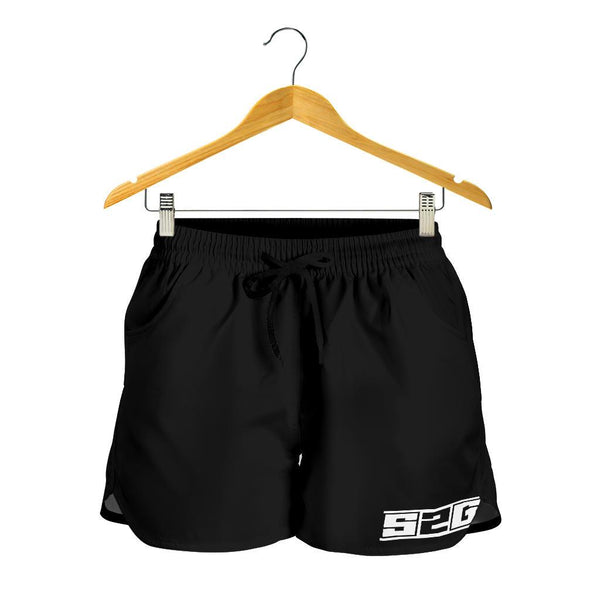 S2G BLACK LADIES SHORTS