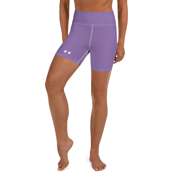 S2G Dumbbell Yoga Shorts Violet