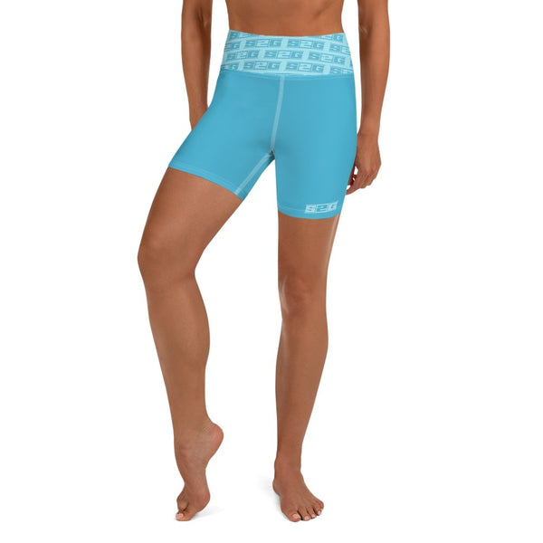 S2G  The Teals High Waist Yoga Shorts