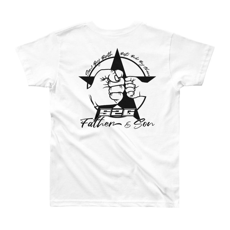 "S2G Father and Sons ""Best Bud"" Youth Short Sleeve T-Shirt"
