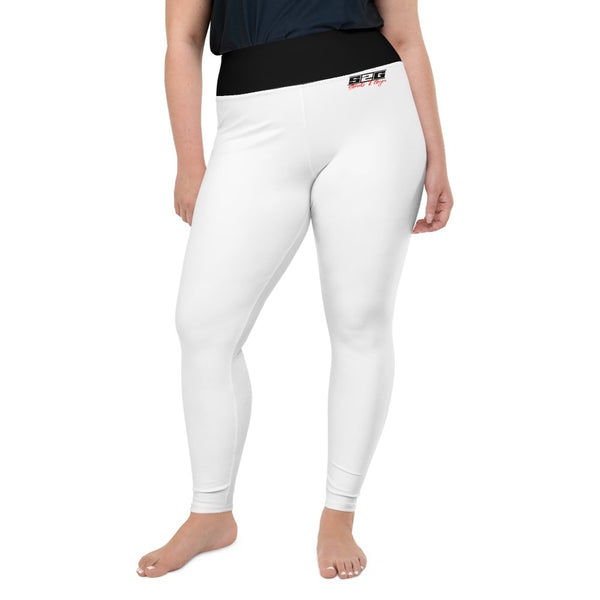 S2G Curvy Signature Series Collection Leggings White