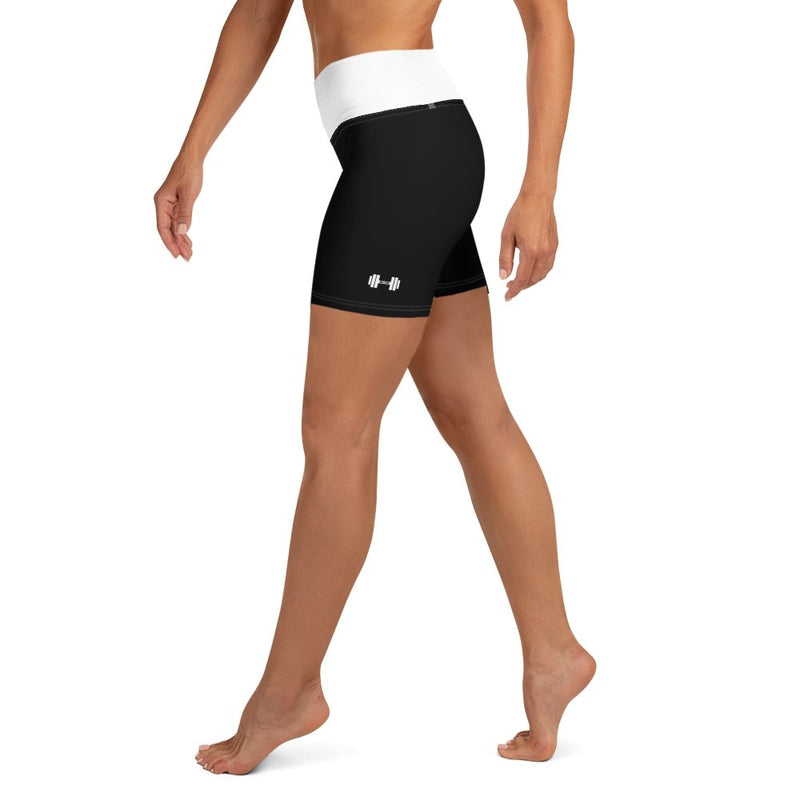 S2G Dumbbell Yoga Shorts Black