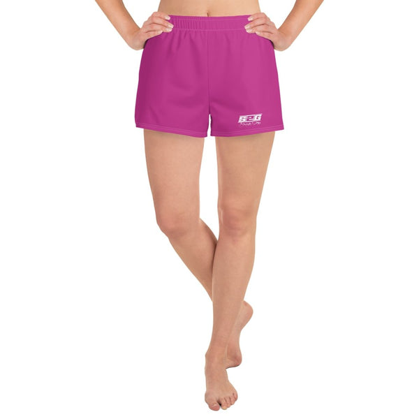 S2G Pink Women's Loose Athletic Short Shorts