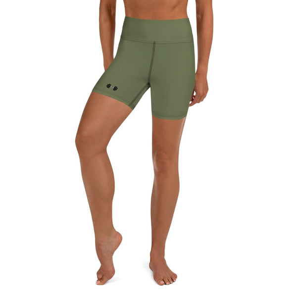 S2G Dumbbell Yoga Shorts OD Green