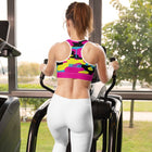 S2G Totally Retro Camo Tactical Padded Sports Bra
