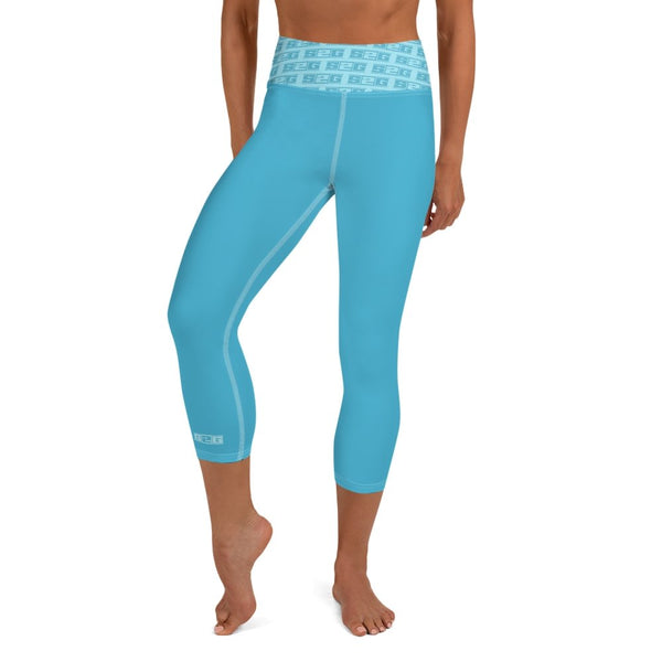 S2G  The Teals High Waist Yoga Capri Leggings
