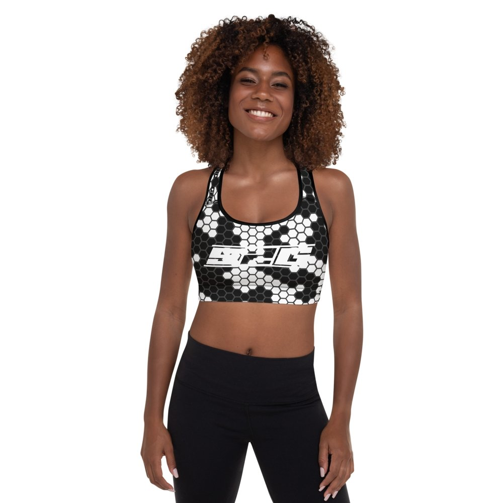 S2G White Snake Tactical Padded Sports Bra