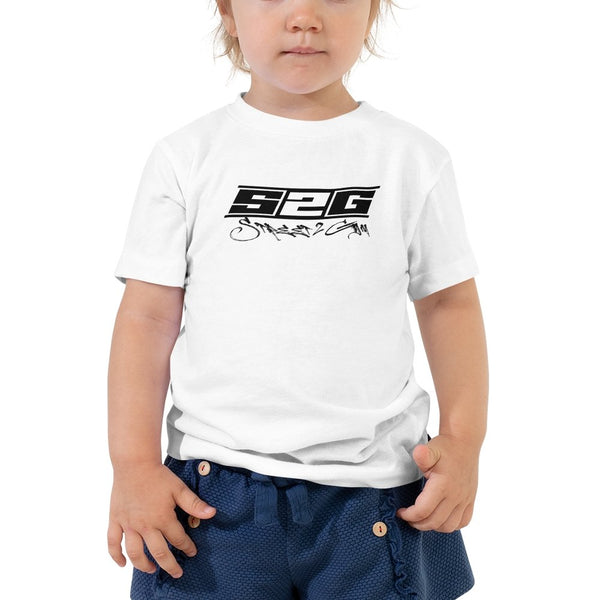 "S2G Father and Sons ""Best Bud"" Toddler Short Sleeve Tee"