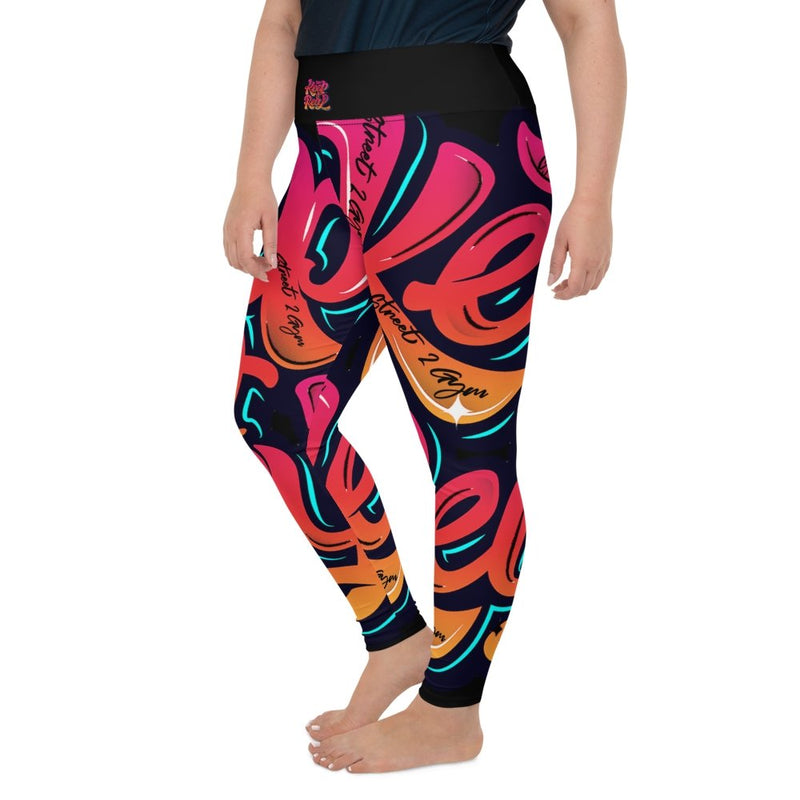 S2G Curvy Collection Keep It Real Leggings