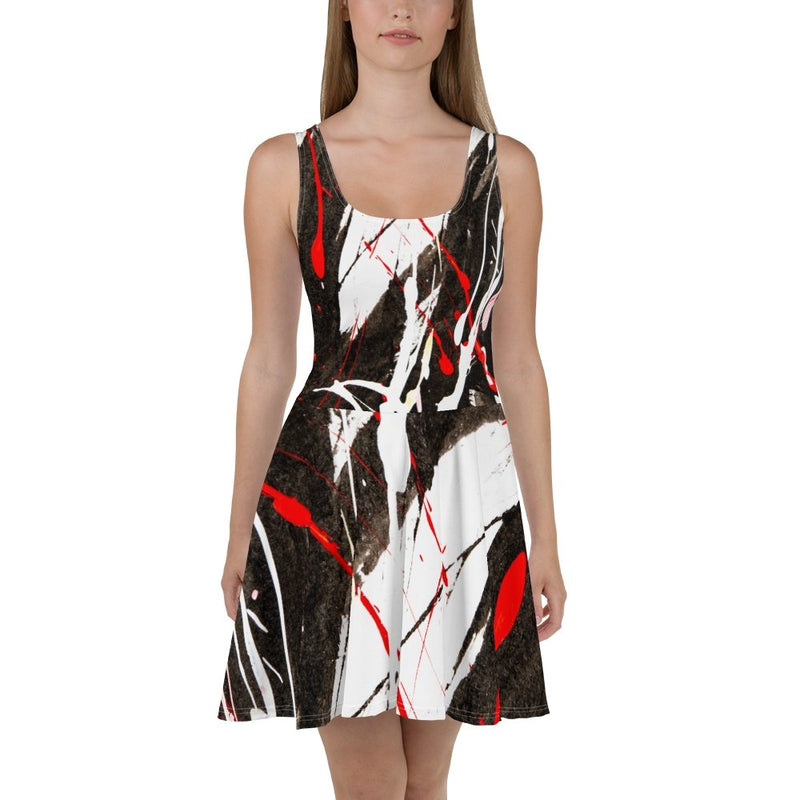 S2G RBW Paint Stroke Flow Dress