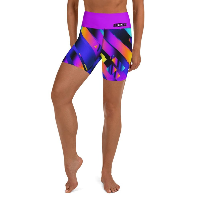S2G Retro Yoga Shorts