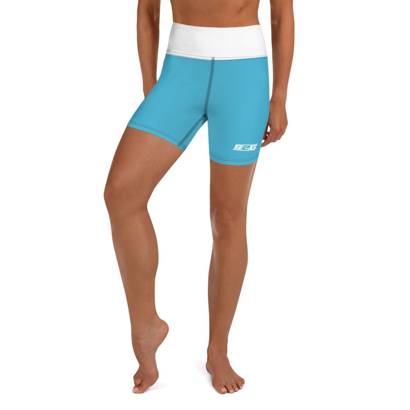 S2G Blue Yoga Shorts