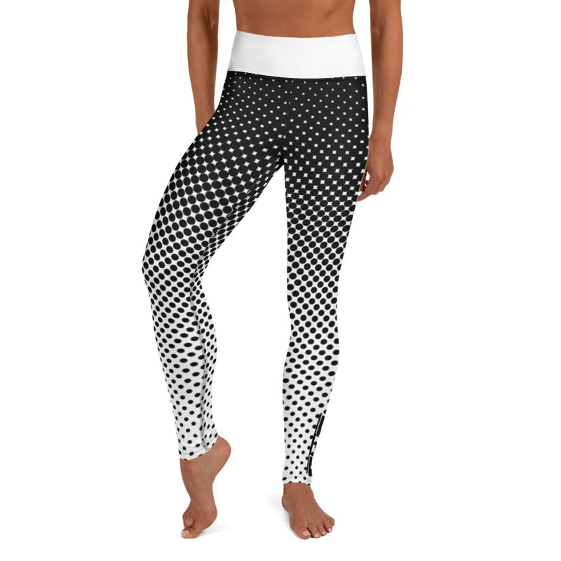 S2G Black Poka-Fade Yoga Leggings