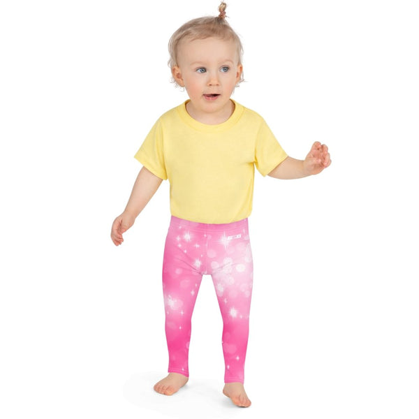 S2G Pink Galaxy Kid's Leggings