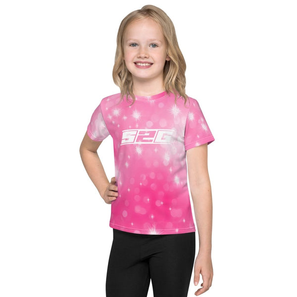 S2G Pink Galaxy Kids T-Shirt