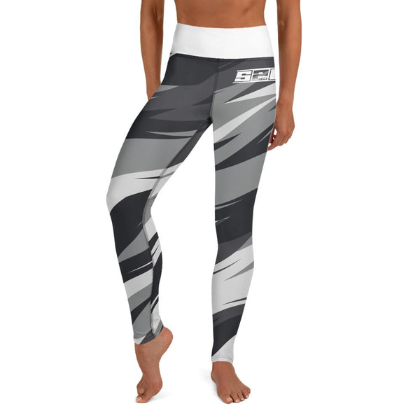 S2G Artic Astract Camo Yoga Leggings Ladies