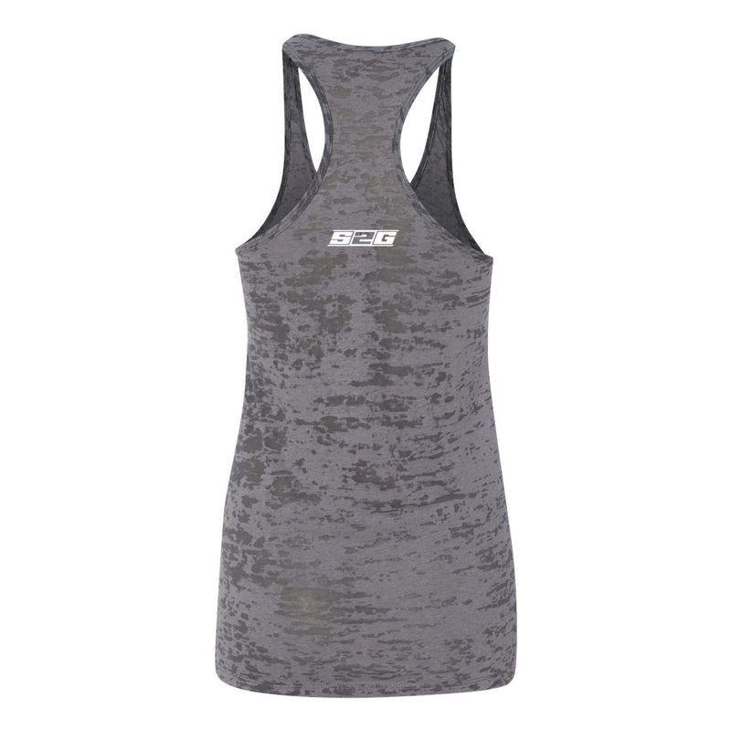 S2G Women's Burnout Racerback Tank Signature Series