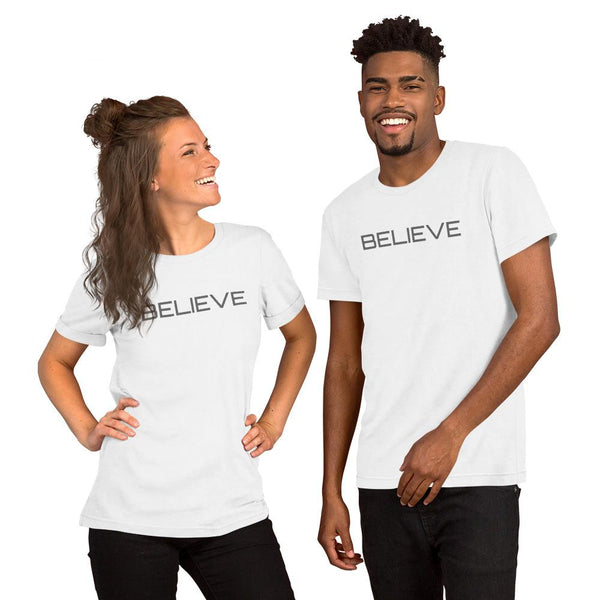S2G BELIEVE Short-Sleeve Unisex T-Shirt