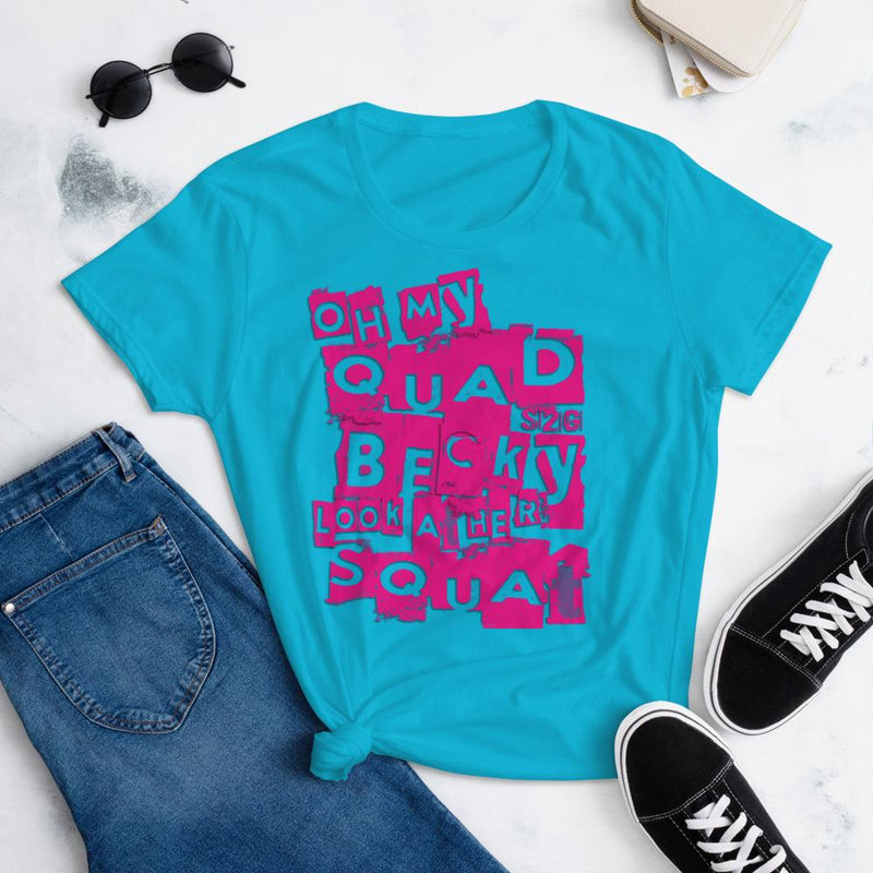 S2G Oh My Quad Women's short sleeve t-shirt