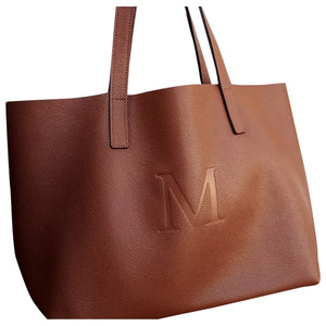 Bolso Tote, inicial M