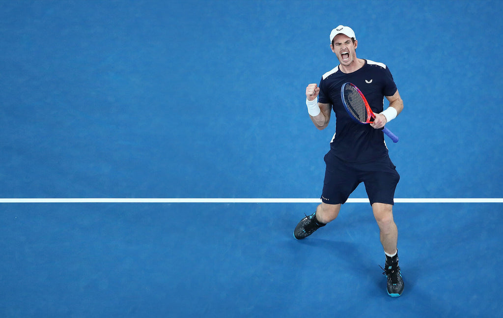 ANDY MURRAY WEARS CASTORE