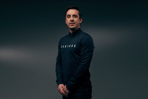 Castore Sportswear Enters New Partnership with Football Legend Gary Neville