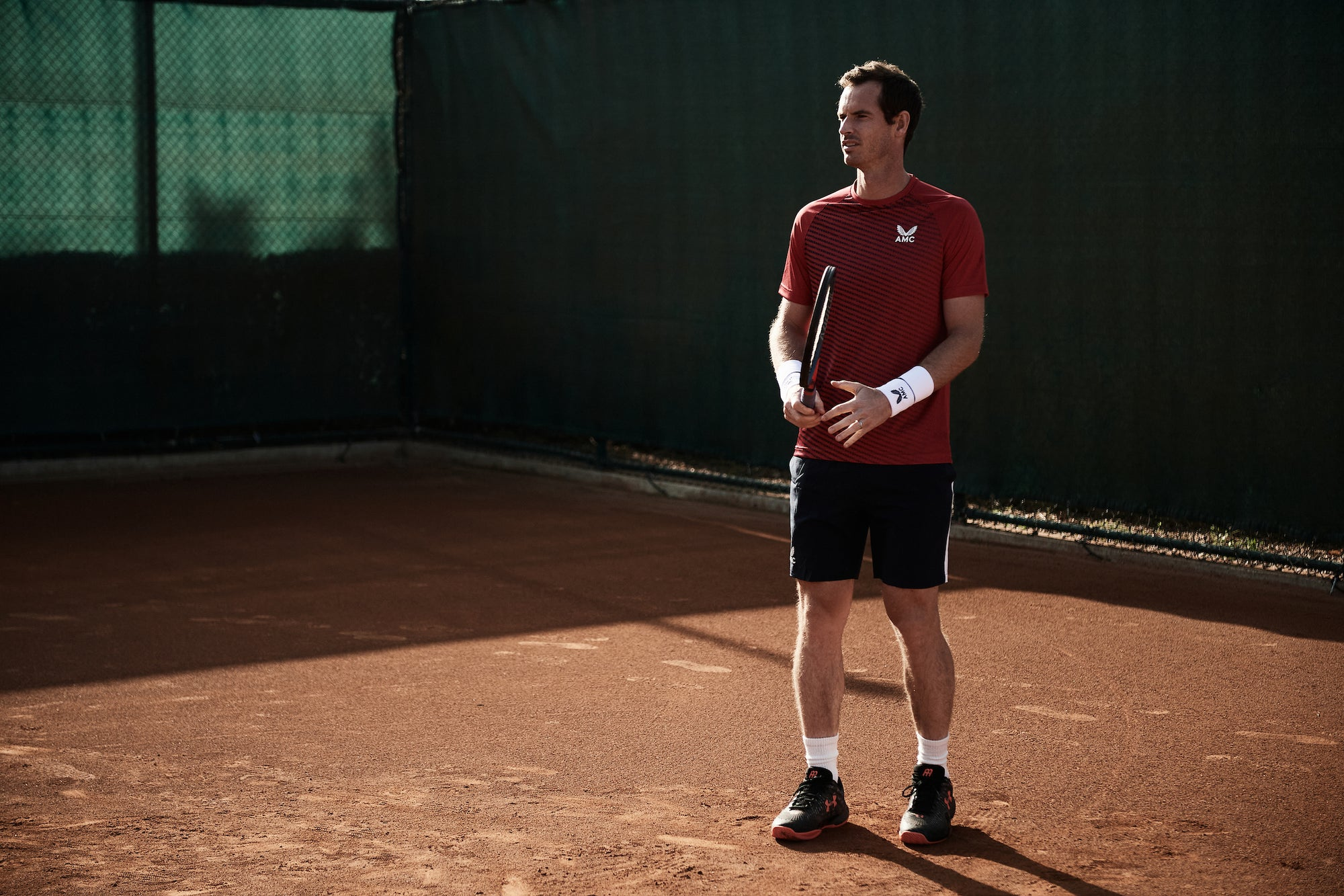Andy returns to the court in AMC