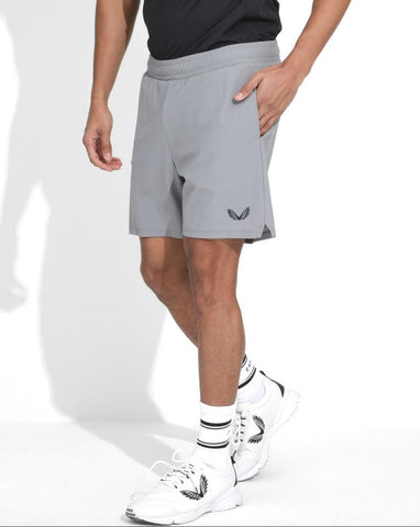 GREY ACTIVE TECHNICAL 2-IN-1 SHORTS