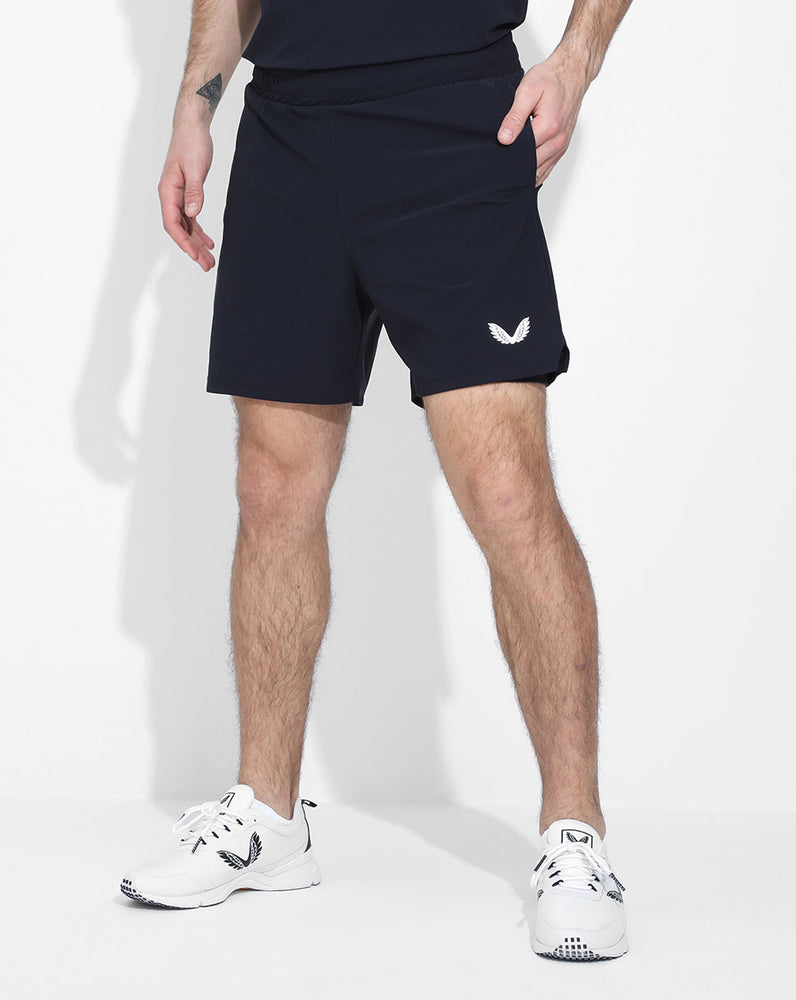 Navy Active Technical 2-in-1 Shorts