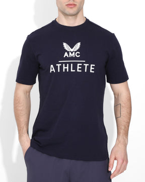 Navy AMC Athlete Tee