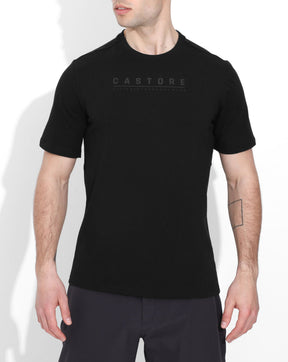 Black / Black Elite Performance Short Sleeve Tee
