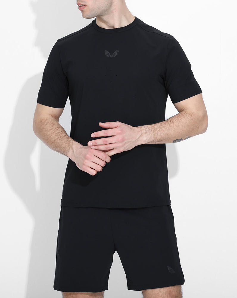 Black Active Technical Tee