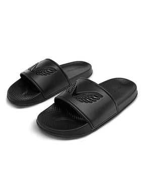 Black Castore Sliders