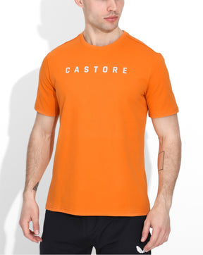 Orange Castore Performance Tee