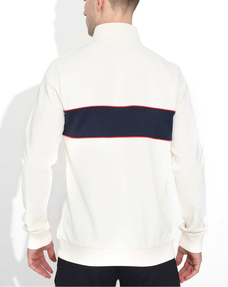 White/Navy Colorado 1/4 Zip
