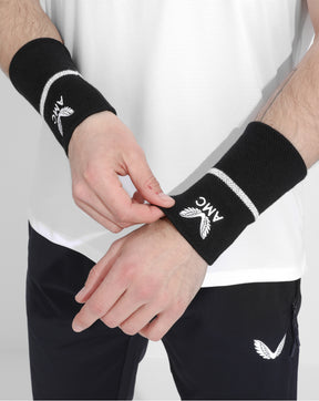 Black / White AMC Sweatband