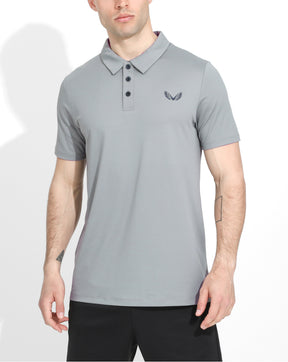 Grey Performance Golf Air Polo