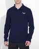 Navy Astoria Long Sleeve Polo
